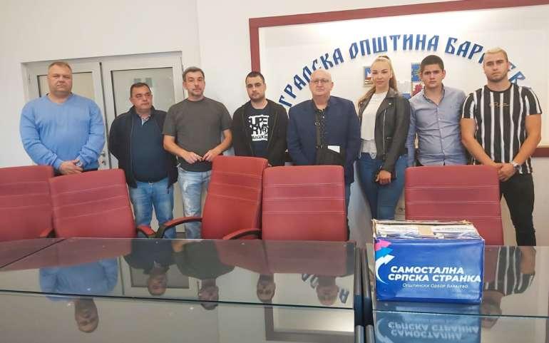 ССС самостално излази на изборе у београдској општини Барајево