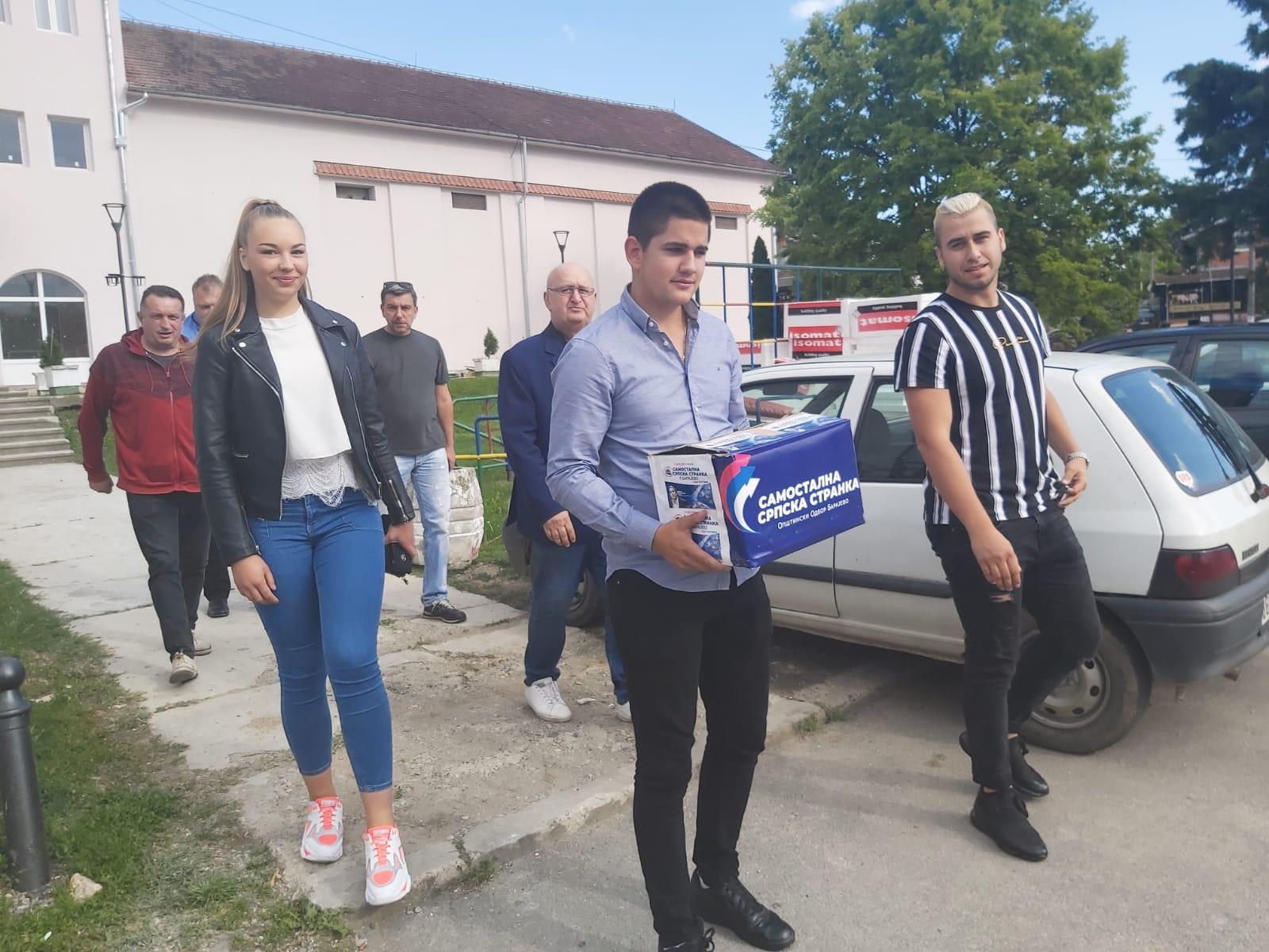 Самостална српска странка Барајево